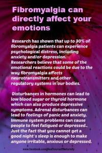 Emotions and Fibro