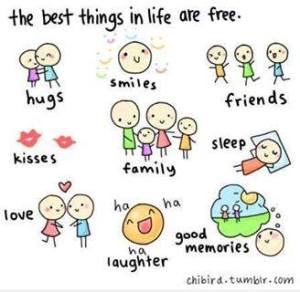 thebestthingsinlifearefree
